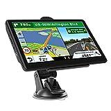 gazechimp Navegación GPS para coche, sistema de navegación por satélite GPS para coches, recordatorio de dirección de giro de voz, ruta GPS, mapa de - Europea