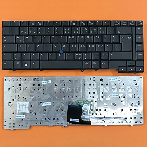 kompatibel für HP Elitebook 8530P Tastatur - Schwarz - mit Maus-Stick - Deutsches Tastaturlayout