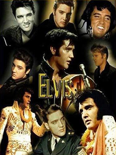 MOL Europese en Amerikaanse superstar zanger Elvis DIY 5D diamant schilderij woonkamer slaapkamer decoratie schilderij hangen kunstwerk geschenken 30x40cm /12x16in één kleur