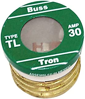 Bussman TL-30PK4 30 Amp TL Edison Plug Time Delay Fuse 4 Count Per Package (3 Pack)