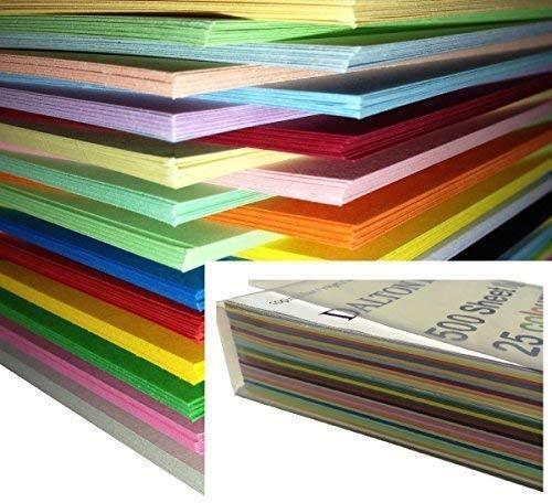 Dalton Manor - Papel de colores (A4, 25 colores)