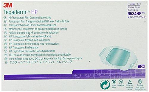 3M Tegaderm HP Transparent Film Dressing Frame Style 9534HP