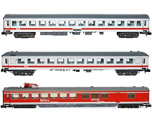 Trix 15887 - Wagen-Set IC 60419 DB AG, Minitrix