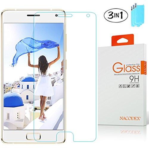 [3-Pack] Lenovo Zuk Z2 Pro Screen Protector, Nacodex [Tempered Glass] 0.26mm Ballistic 9H Glass (For Lenovo Zuk Z2 Pro)