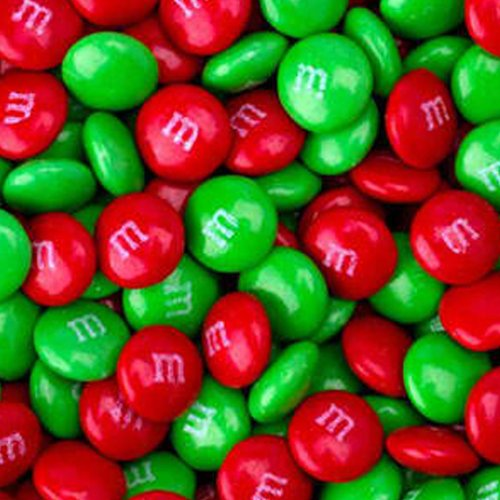 Christmas M&M's Milk Chocolate Candy 5LB Bag