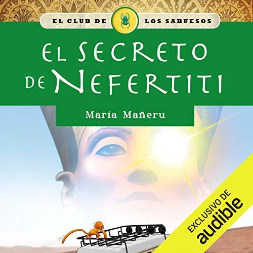 Diseño de la portada del título El secreto de Nefertiti
