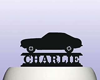 Personalised Acrylic Capri MK3 70s Classic Car Birthday Cake Topper Decoration