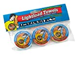 Lightload Towels Compressed Wash Cloth Hand Face Disposable Washable Non Microfiber Quick Dry