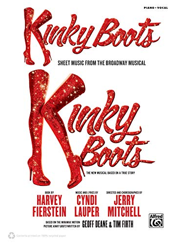 Kinky Boots: Sheet Music from the Broadway Musical  |  Klavier / Gesang / Gitarre  |  Buch