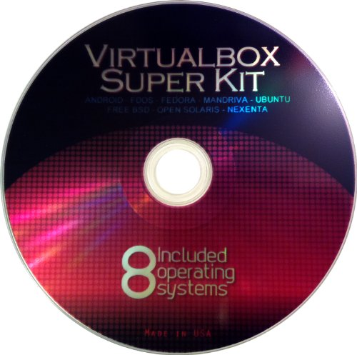 VirtualBox Super Kit VM Software and Operating System Collection for Win & Mac