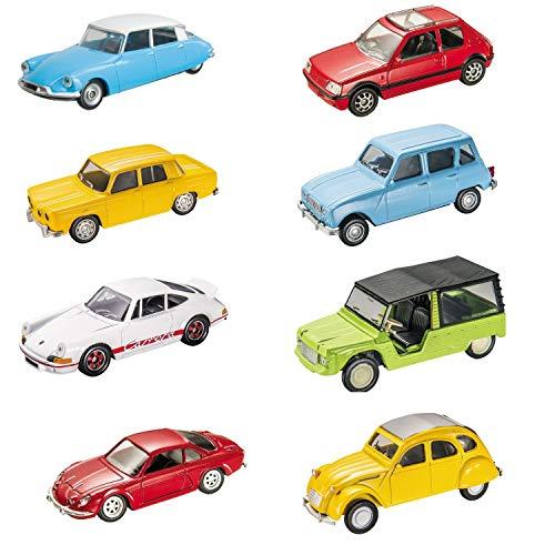 Mondo Motors - Vintage Collection - Macchinine Giocattolo Regalo per Bambini - Età 3,4,5,6 Anni - Scala 1:43 - Repliche auto vintage - 53167, Colori Assortiti, 1 pezzo