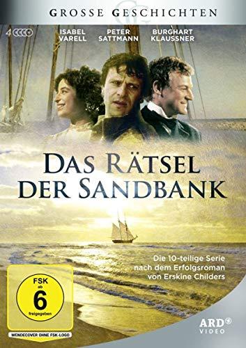 Das Rätsel der Sandbank (4 DVDs) - Große Geschichten - 10-teilige Verfilmung des Erfolgsromans von Erskine Childers