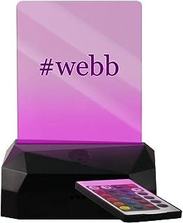 #webb - Hashtag LED USB Rechargeable Edge Lit Sign