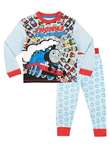 Thomas & Friends Pijama para Niños Thomas The Tank Multicolor 6-7 Años