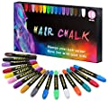 Hair Chalk for Girls Kids,16 Color Temporary Hair Chalk Pens,Washable Bright Hair Color Dye for Girls Age 4 5 6 7 8 9 10+ Christmas Birthday Gifts for Girls.