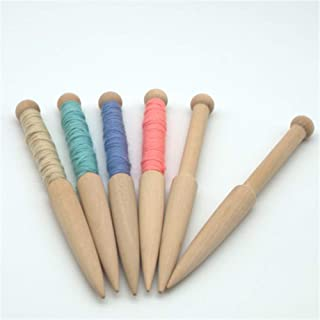 minicart Carpet Tapestry Weave Crochet DIY Craft Hook Beech Wood Loom Tools Weaving