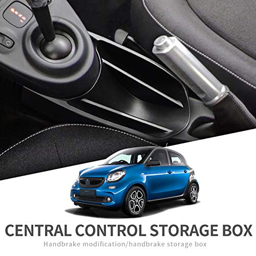 SMABEE Car Armrest Center Storage Box for Smart 453 fortwo forfour 2015~2019 for Mercedes Accessories Container Glove Auto Organizer