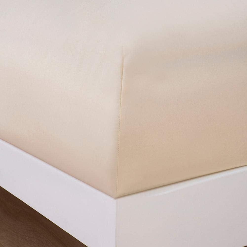 Fditt desenfundable de Microfibra Antideslizante Antideslizante Cubrecolch/ón Lavable