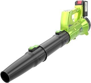 Handheld Cordless Leaf Blower-21V 5.8Ah Lithium Battery,ffor Blowing Leaf Sweeping Snow Dusting,Electric Axial Leaf Sw. Ji...