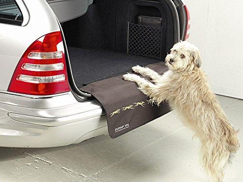 Preisvergleich Produktbild Kleinmetall 50555900 Jump In Stoßstangen-Kratzschutz für Kofferraum