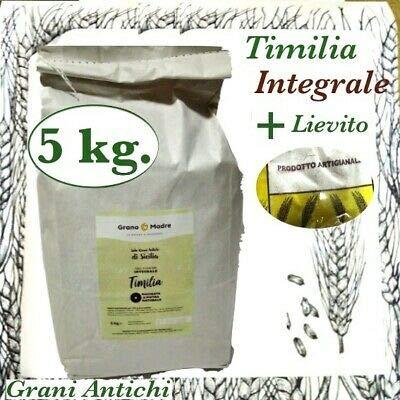 Prodigital Antik Sizilianischer Weizen: Integralmehl SEMOLA TIMILIA 5 kg.