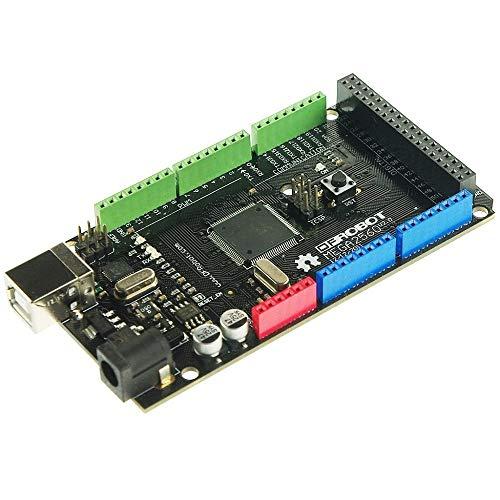 DFRobot DFRobot Mega 2560 V3.0 (Arduino Mega 2560 R3 Compatible) - DIY Maker Open Source BOOOLE