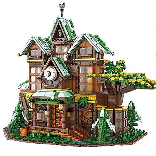 Juegos De Construcción De Casas Modulares, Juego De Construcción De Modelos De Casas De Árbol De Ideas, 2466 Piezas Compatibles con Lego, El Modelo De Construcción No Es Creado por Lego