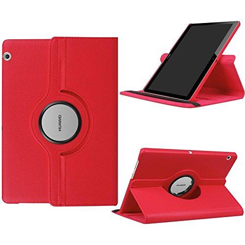 DETUOSI 360° Rotation Coque pour Huawei Mediapad T3 10 Housse Rotatif Etui de Protection Case Cover Tablet Huawei T3 9.6