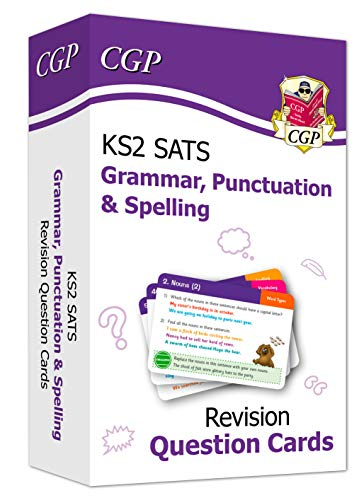 New KS2 English SATS Revision Question Cards: Grammar, Punctuation & Spelling (for the 2020 tests) (CGP KS2 English SATs) (English Edition)