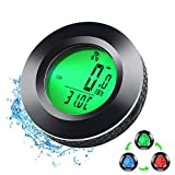 Bike Computer Wireless,3 Color Backlight Bike Speedometer,AutoOn/Off Cycle Bicycle Computer,LCD Power Meter Cycling Computer,Waterproof Bicycle Speedometer,Mountain Bike Odometer Distance Tracker