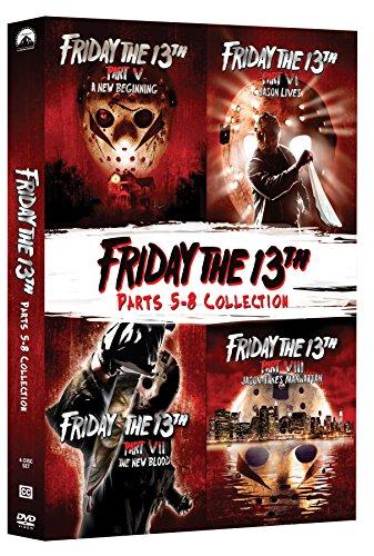 Friday The 13Th: Deluxe Edition Four Pack (V-Viii) (2 Dvd) [Edizione: Stati Uniti]