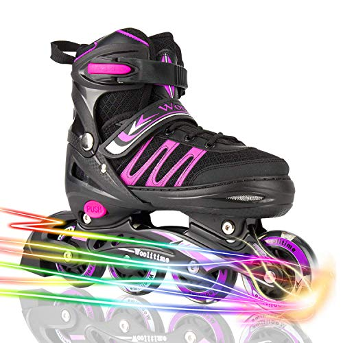 Woolitime Sports Blades Roller Skates For 10 Year Old Boys