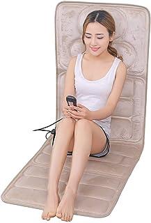 YEESEU Cojín de Cuerpo Completo de Infrarrojos masajeador con Calor/Shiatsu Profundo de amasamiento, Masaje por vibración Completa de Espalda, Espalda Superior, Espalda Inferior Alivio del Dolor