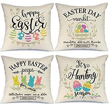 Best easter pillow covers Reviews