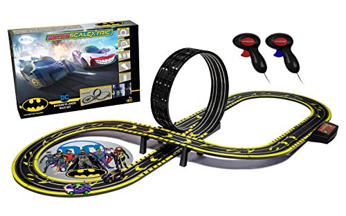 Scalextric - Micro Scalextric Batman Joker Battery Race Set (9/20) * - SC1155M