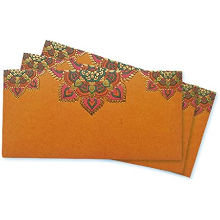 Amazon Pay Gift Card - Gift Envelope | Yellow | Pack of 3