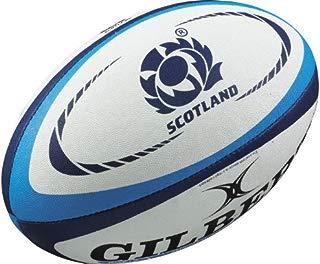 Gilbert Scotland International Replica Rugby Ball - Size 5 -