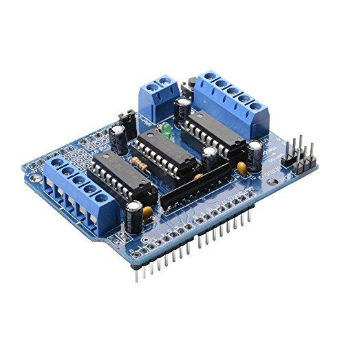 MUZOCT L293D Motor Driver Shield für Arduino Duemilanove Mega UNO R3 AVR ATMEL