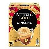 Nescafé Gold Preparato Solubile per Caffè al Ginseng, Astuccio, 10 Bustine, 70 g