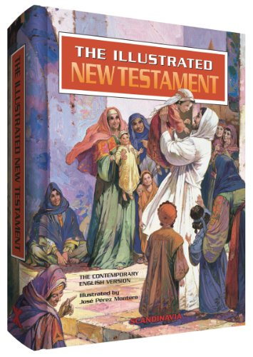 Compare Textbook Prices for Illustrated Bible-New Testament-Children Bible,New Testament, Contemporary English Version for Children, Bible Verses for Children, Story Book for ... Word, Illustrated Bible Stories for Children  ISBN 9788772476803 by Jose Perez Montero,Jose Perez Montero