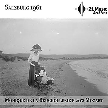 Monique de la Bruchollerie Plays Mozart (Salzburg, 1961)