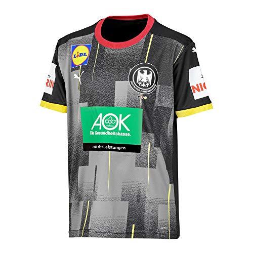 DHB Puma Handball Away Shirt Junior 152-176 Deutsche Nationalmannschaft Black, Größe:176