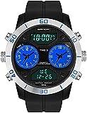 Uomo Studente Orologio Digitale Digitale Sport All'aperto Teen Sveglia Impermeabile Moda Trend SmartWatches-B (Colore: B)(B)