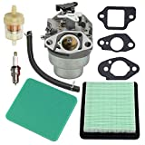 Etase Filtre à Air pour Kit de RéGlage de Carburateur GCV160 pour GCV160A Tondeuse à Gazon GCV160LE HRB216 HRR216 HRS216 HRT216 HRZ216