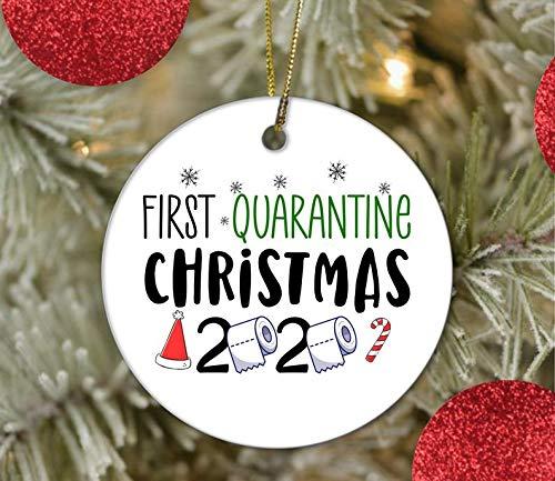 First Quarantine Christmas Ornaments / 2020 Ornament/Quaratine Ornament