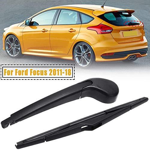 NO LOGO ZWQ-Spring for Ford for Fokus 2011-2018 Heckscheibe Scheibenwischer Arm Blade Set 85.241-48.080 Heckscheibenwischerarm Klinge (Farbe : Wiper Arm and Blade)
