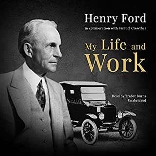 My Life and Work audiobook cover art