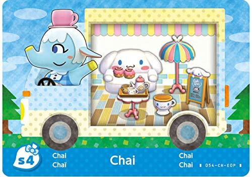 Amiibo Karten: Animal Crossing: New Leaf – Sanrio Collaboration Pack (6 Stück) - 5