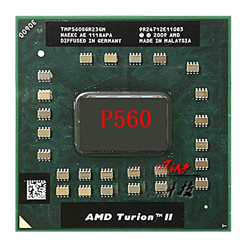 AMD Turion II Dual-Core Mobile P560 2,5 GHz Dual-Core Dual-Thread CPU Prozessor TMP560SGR23GM Sockel S1
