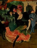 The Poster Corp Henri de Toulouse-Lautrec – Can Can